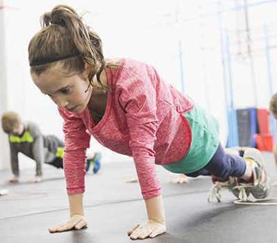 Aerial Yoga για παιδιά